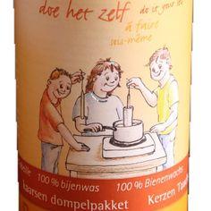 DIY beeswax Candle Kit