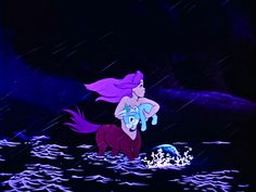 Purple centaurette saves a baby unicorn in Fantasia. Disney Animated Movies, Disney Films, Disney And Dreamworks, Disney Cartoons, Disney Pixar, Walt Disney, Disney Art, Disney And More, Disney Love