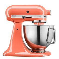 KitchenAid Bird of Paradise 2018 Color of the Year - Limited Edition Artisan Series 5 Quart Tilt-Head Stand Mixer