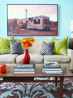 Wandbilder Wohnzimmer   50 Ideen, Wie Sie Die Wohnzimmerwände Mit  Wandbildern Dekorieren