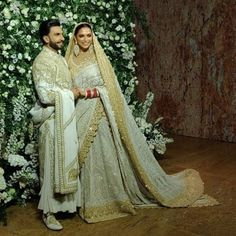 Deepika-Ranveer Mumbai Wedding Reception: Ranveer Singh and Deepika Padukone are hosting their second wedding reception at the Grand Hyatt in Mumbai tonight.Dresses available at showrooms ,now Wedding Wear, Trendy Wedding, Wedding Reception, Indian Reception Dress, Reception Dresses, Ranveer Singh, Deepika Ranveer, Deepika Singh, Aishwarya Rai