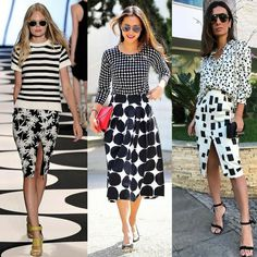 Pattern Mixing Outfits, Mixing Patterns, Spring Summer Fashion, Spring Outfits, Girl Fashion, Fashion Outfits, Womens Fashion, Looks Street Style, Moda Paris