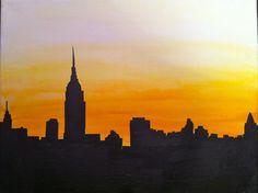 skyline paintings