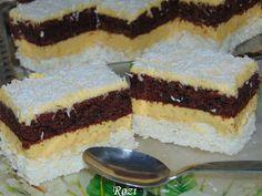 Rozi Erdélyi konyhája: Diós raffaello szelet Tiramisu, Cheesecake, Sweets, Cookies, Ethnic Recipes, Cukor, Beauty, Dios, Xmas
