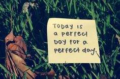 just a perfect day..