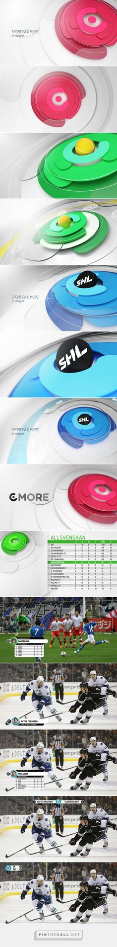 C MORE ID PITCH on Behance... - a grouped images picture - Pin Them All