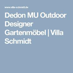 Dedon MU Outdoor Designer Gartenmöbel | Villa Schmidt