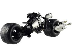 """Bat Pod """"The Dark Knight"""" Trilogy Elite Edition Diecast Motorcycle Model by Hotwheels The Dark Knight Trilogy, Batman The Dark Knight, Knight Models, Zombie Weapons, Rubber Tires, Diecast Model Cars, Batmobile, Toddler Gifts, Old Trucks"""