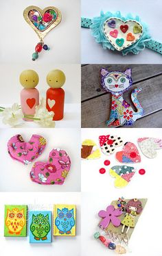 SWEET HEARTS by tornpaperco on Etsy--Pinned with TreasuryPin.com