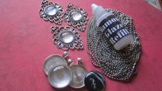 Make Your Own Christmas Photo Jewelry Antique Silver by trusted, $16.00