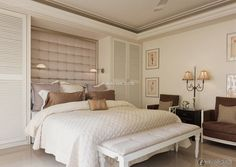 Neo-classical design fashionable bedrooms 2015