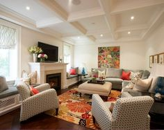 Living Room With Sectional Design, Pictures, Remodel, Decor and Ideas
