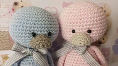 Dos patos muy coquetos ideales para tu bebé