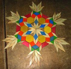 Pattern Block Snowflake - Mel Sipulo | G1:27 Original Designs