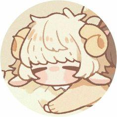 Not my art/icon, creds to peachuus Manga Kawaii, Kawaii Art, Cute Anime Character, Character Art, Kawaii Drawings, Cute Drawings, Anime Chibi, Anime Art, Matching Profile Pictures