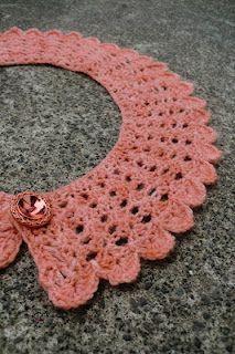 Kristín Hrund Handcrafts - crochet collar Pattern