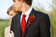 Resultado de imagen para boda roja y blanco vestido