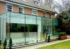 Conservatory, Orangery, Garden Room, the perfect complement to your home House Extension Design, Glass Extension, House Design, Exterior Design, Interior And Exterior, Glass Porch, Glass Conservatory, Porch Enclosures, Glass Office