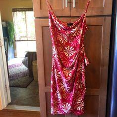 BCBG MaxAzria spaghetti strap dress BCBG MaxAzria spaghetti strap dress. Perfect condition. BCBGMaxAzria Dresses Midi