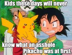 The beginnings of Pikachu…