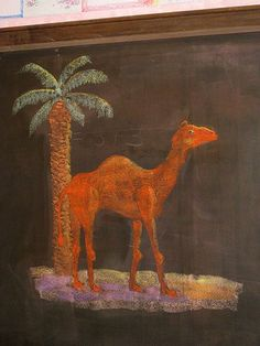 camel & date palm: