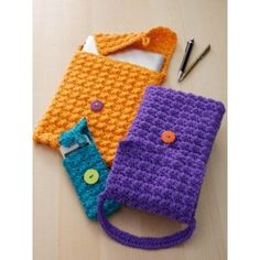 Cell Phone or Tablet Cozy - Crochet Patterns - Patterns | Yarnspirations