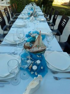 Summer Table Decorations, Royal Blue, Blue And White, Events, Luxury, Home Decor, Decoration Home, Room Decor, Home Interior Design