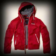 ホリスター メンズ ジャケット Hollister Point Loma Jacket ジャケット ★左の胸にあるホリスターを代表するカモメとロゴの刺繍がポイント! ★ナイロン-100%で着心地バツグンのコーディネイトしやすいジャケット。