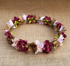 Corona de flores para el pelo Romantic