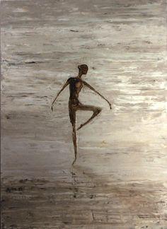 Danza I - óleo s/lienzo 70 x 50