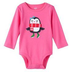 Carter's Penguin Bodysuit - Baby