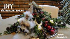 DIY Weihnachtsdeko selber machen I aus Moos Zweige und Glaskugeln  I Ker...