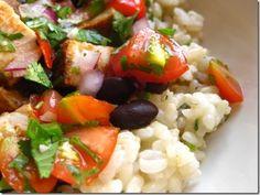 Homemade Burrito Bowl - skip the restaurant & make your own instead! via Iowa Girl Eats Blog