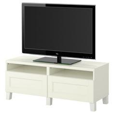 BESTÅ TV-Bank mit Schubladen - IKEA