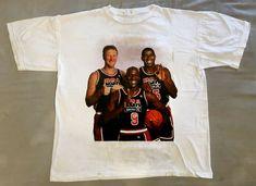 322cabff49b Michael Jordan Magic Johnson Larry Bird Dream Team USA  fashion  clothing   shoes  accessories  mensclothing  shirts (ebay link)