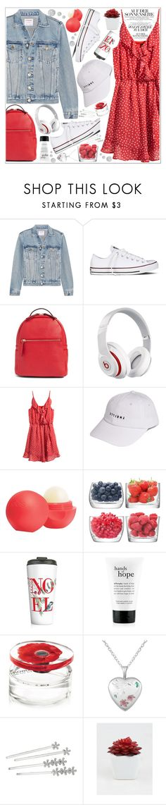 """style"" by lena-volodivchyk ❤ liked on Polyvore featuring Frame, Converse, Beats by Dr. Dre, Thrills, Eos, LSA International, philosophy, Kenzo, Lauren Ralph Lauren and Ankit"