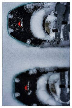 Some basic snowshoeing tips.  Links to backcountry rules for safety regarding tree wells & avalanche danger.