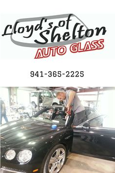 As promised! Our tech, Nick Marney, returned to install the front and rear windshields after the body work was completed for this 2014 Bentley M12, 6.0 Turbo Charged beauty. https://lloydsofshelton.com/blog/auto-glass-replacement-sarasota-fl/ | #AutoGlass #Sarasota