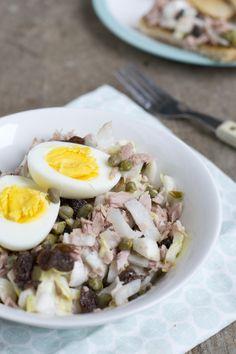 Tonijnsalade met witlof