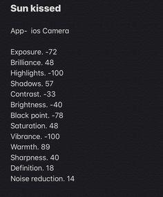 Photography Editing Apps, Good Photo Editing Apps, Photography Tips Iphone, Photo Editing Vsco, Instagram Photo Editing, Photography Filters, Photography Basics, Edit Camera, Camera Roll