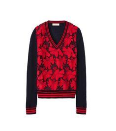 TORY BURCH Nicola Sweater. #toryburch #cloth #