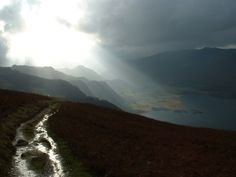 Walla Crag - Borrowdale - Lake District : 1040097 - PicturesOfEngland.com