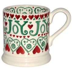 Joy 0.5 Pint Mug (Christmas 2011) Discontinued