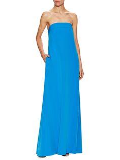 Milly Italian Cady Vanessa Maxi Dress