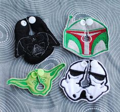Star Wars Belly Shapes GTube/JTube Button Covers by aHaDesigns2 on Etsy, $8.00