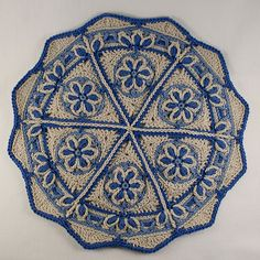 Ravelry: Trivet in Overlay Crochet pattern by CAROcreated design                                                                                                                                                                                 More