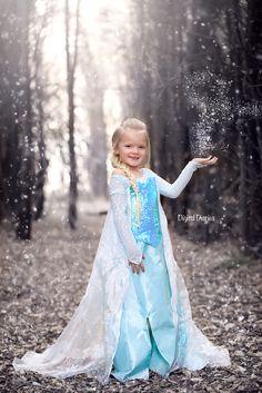 Halloween Mini Session | Queen Elsa | Frozen | Jill Andrews Photography