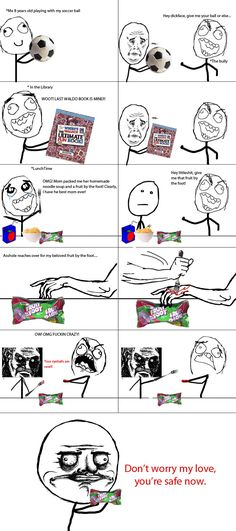Le Fruit By The Foot - View more rage comics at http://leragecomics.com