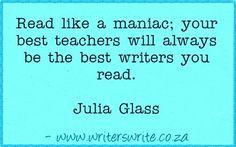 Quotable - Julia Glass - Writers Write Creative Blog