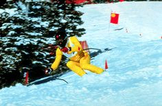 Canadian Skier-Steve Podborski
